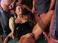 gangbang porno milf finden
