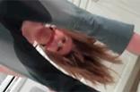 Teenie Girl hat sich eingepullert
