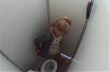 Blondine heimlich gefilmt