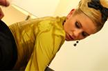 Versaute Blondine liebt es feucht