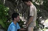 Asia Gays pinkeln und blasen