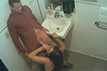 Blowjob auf Supermarkt Toilette