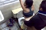 Freundin auf öffentliche Toilette gebumst