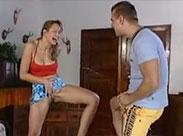 Deutsches Amateur Paar hat Pisse Wettstreit